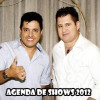 Agenda de show do Bruno e Marrone 2012