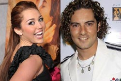 Miley Cyrus e David Bisbal